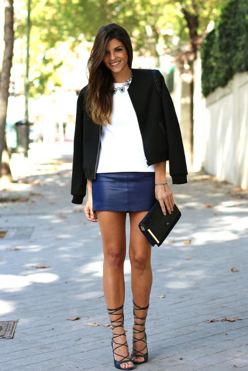 falda, origami, skort, outfit, mujer, moda, tendencia, midi, mini, trompeta