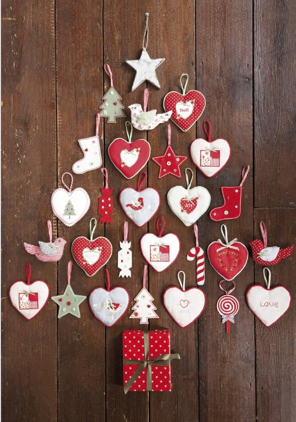 navidad, decoración de mesas, calendario adviento, árbol de Navidad, galletas
