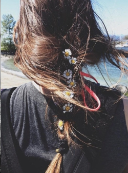 pelo, melena, tendencia, peinado, mujer, complementos