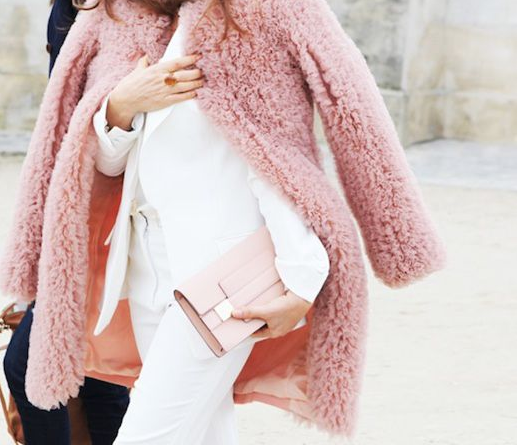 rosa, pink, total look, tendencia, outfit, mujer, pastel, coca cola