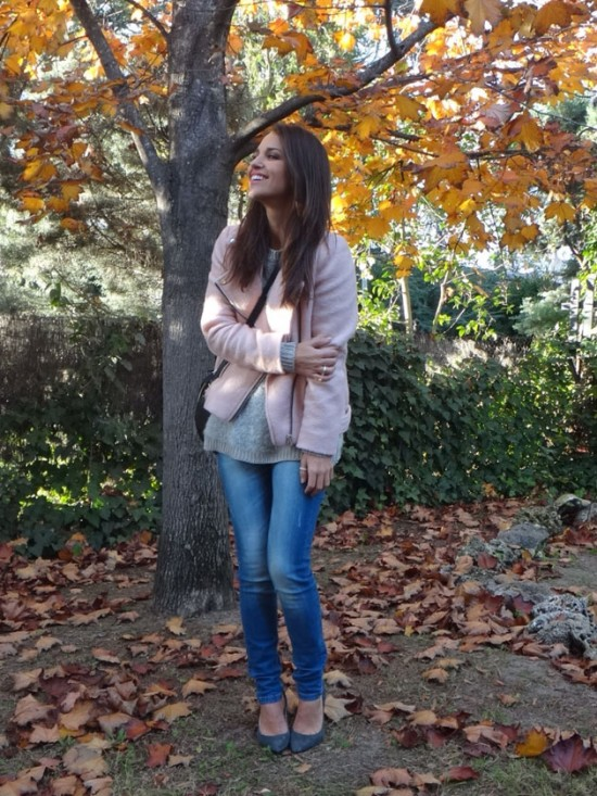 rosa, pink, total look, tendencia, outfit, mujer, pastel