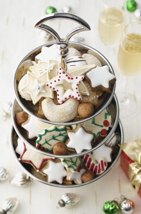 cupcakes, postres, galletas, Navidad, cocina, gourmet, turrón