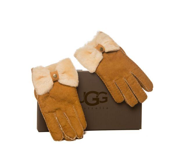 guantes, regalo, Navidad, ugg