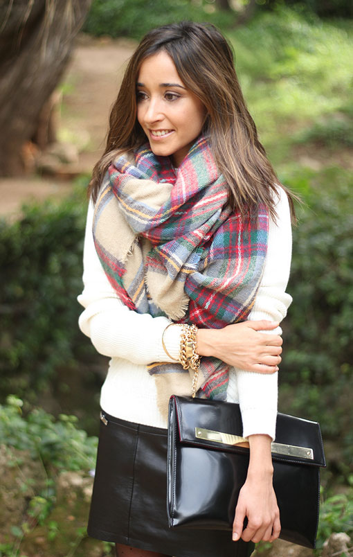 pañuelo, foulard, tendencia, mujer, moda, Zara