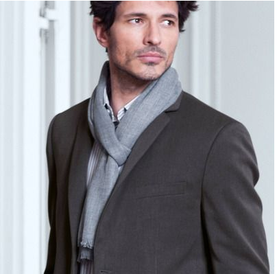 gris, moda, tendencia, outfit, mujer, hombre