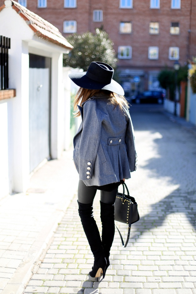 sombrero, tendencia, outfit, mujer, hombre