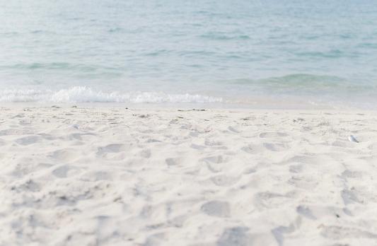 playa, arena, mar