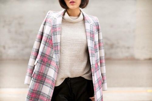 abrigo, Stella McCartney, tendencia, outfit, mujer