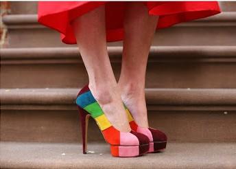zapatos, tacón, high heels, tendencia, mujer