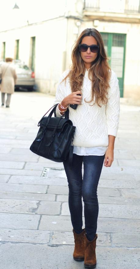 Prendas de vestir exteriores de todos los tiempos Pantalones vaqueros grises outfit
