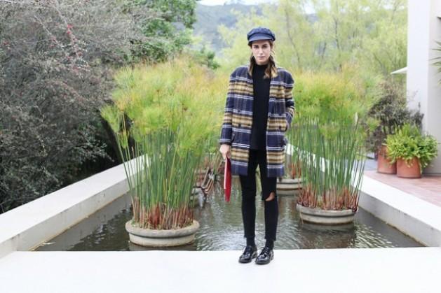 abrigo, clon, tendencia, outfit, mujer