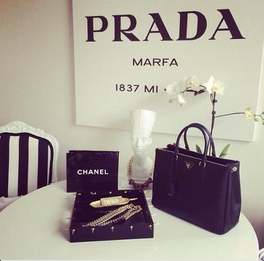 Chanel, Prada, moda, marcas