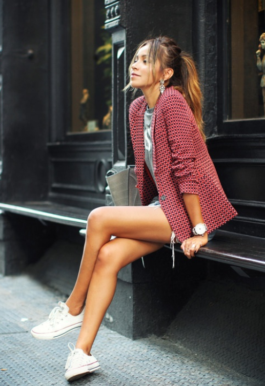 sneakers, zapatillas, converse, all star, stan smith, new balance, tendencia, outfit