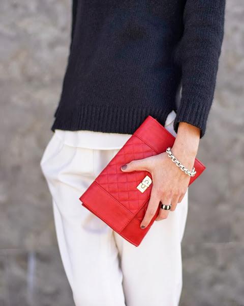 pantalón blanco, white pants, tendencia, outfit, mujer, moda