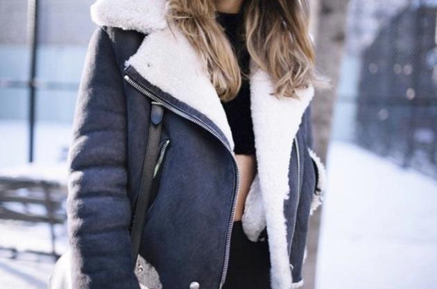 chaqueta, shearling jacket, chamarra, borrego,