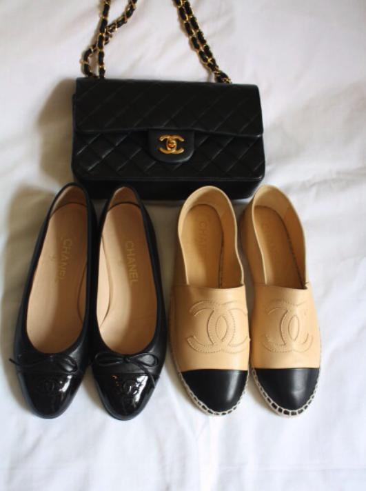 Vía Tumblr Chanel, alpargatas, espadriles, tendencia, mujer, outfit