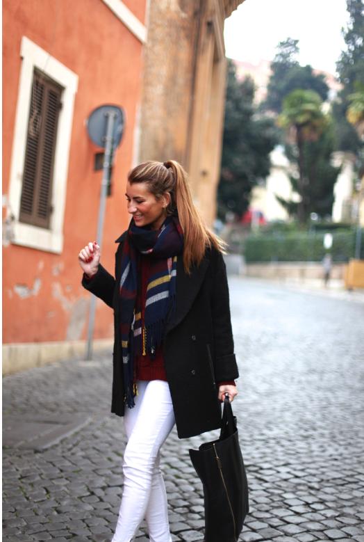 pantalon, blanco, white pants, tendencia, outfit, moda, mujer