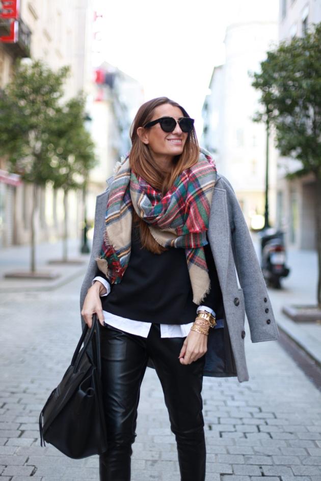 Zara, plaid, bufanda, manta, tendendcia