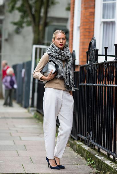 Pantalones Blancos En Invierno Por Qu No