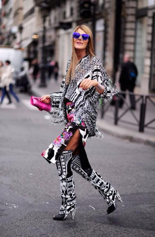 Anna dello Russo, bambi, vestido, outfit, moda