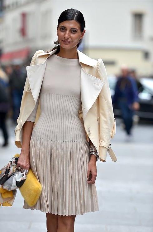 Anna dello Russo, bambi, vestido, outfit, moda, Emmanuelle Alt, Giovanna Bataglia