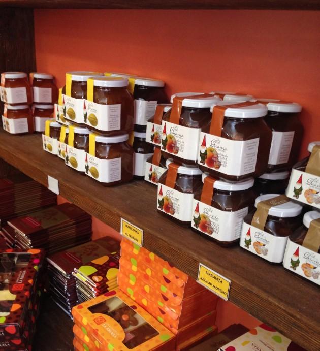chocolate, chocolates de la abuela, Pirineo Aragonés, mermeladas
