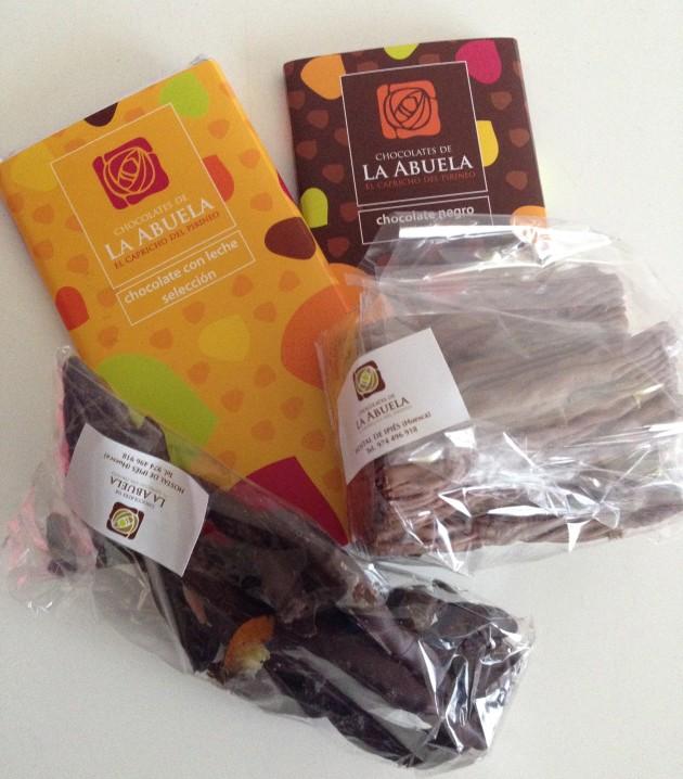 chocolate, chocolates de la abuela, Pirineo Aragonés