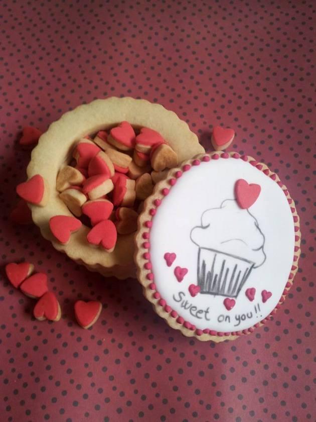 Dulceluru, galletas, San Valentín,