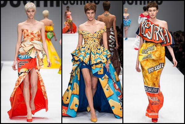 Moschino, Mc Donald's, 2014, tendencia, mujer