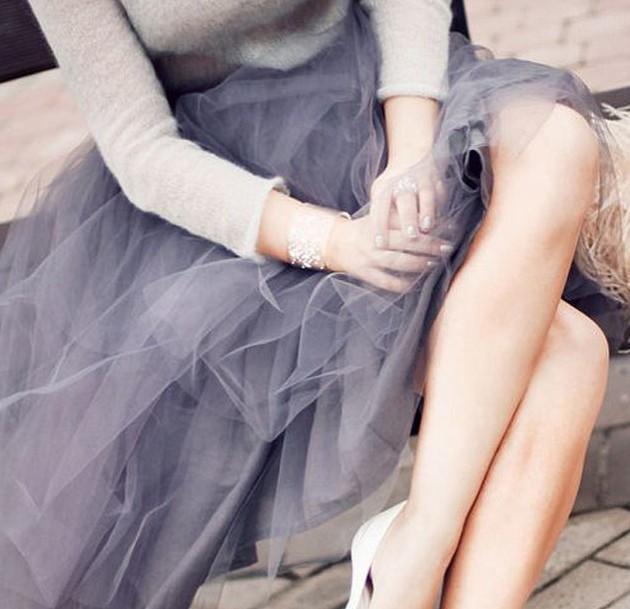 tul, lazos, tendencia, moda, mujer