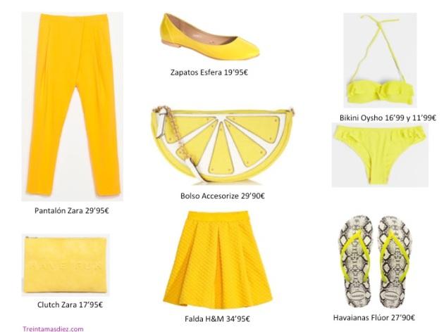 amarillo, color, tendencia,mujer