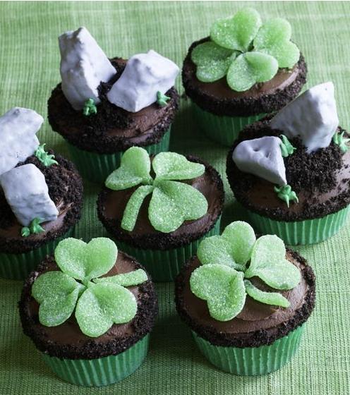 Día de San Patricio, Saint Patrick's day, celebración, sweets, postres