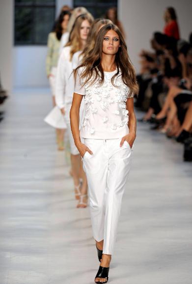 Alexander Wang, tendencia, moda, mujer, blanco
