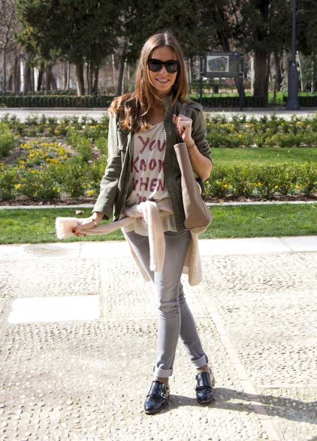 zapatos, mocasines, tendencia, outfit, mujer