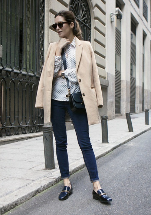 mocasines, zapatos oxford, tendencia, mujer