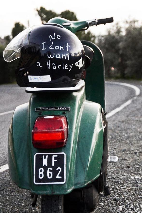vespa, moto, vintage, retro