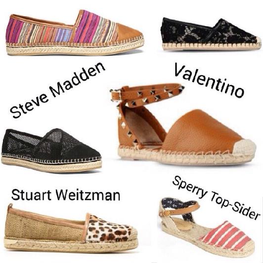 Chanel, alpargatas, valentino, tendencia, Stuart Weitzman