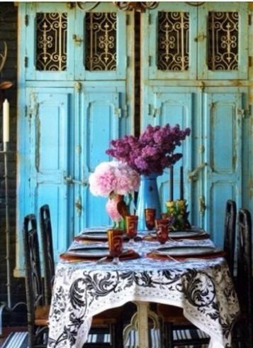 decoración, azul, amarillo, pastel, rosa, verde, menta, banco, madera