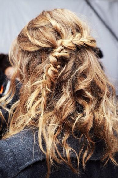 trenza, peinados, tendencia, cabello