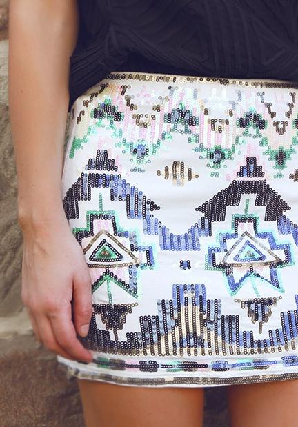 tribal, etnico, estilo, tendencia, mujer
