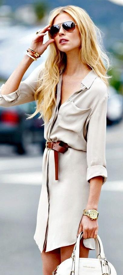 treintamasdiez-blogde moda, shirt dress, vestido camisero