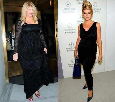 celebridades anorexicas antes y despues de adelgazar