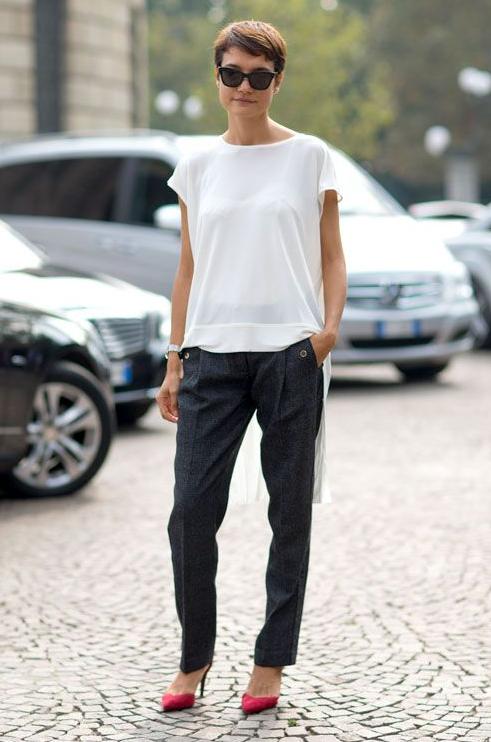 treintamasdiez-blog-de-moda, denim, negro, camisa blanca