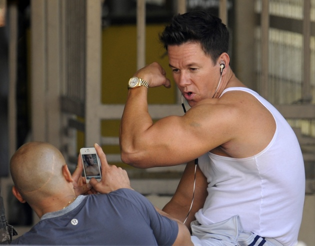 Exclusive - 'Pain and Gain' - Film Set