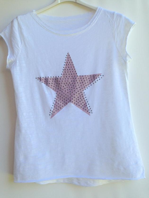 treintamasdiez-shop camiseta estrella rosa