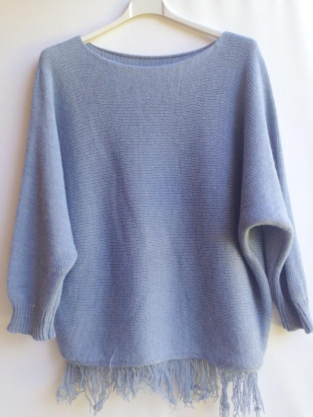 treintamasdiez-shop poncho azul
