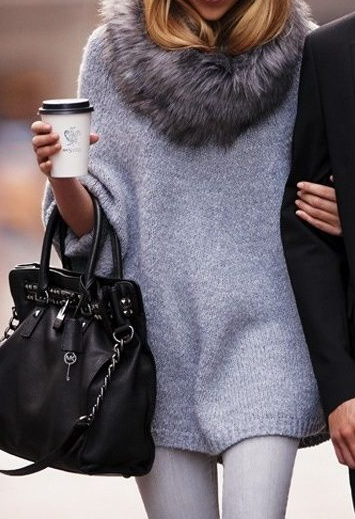 treintamasdiez-blog-de-moda, collar de pelo, fur collar