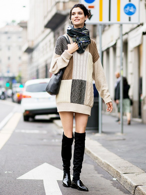 treintamasdiez-blog-de-moda sweater dress