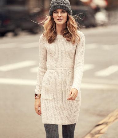 Jersey vestido de punto