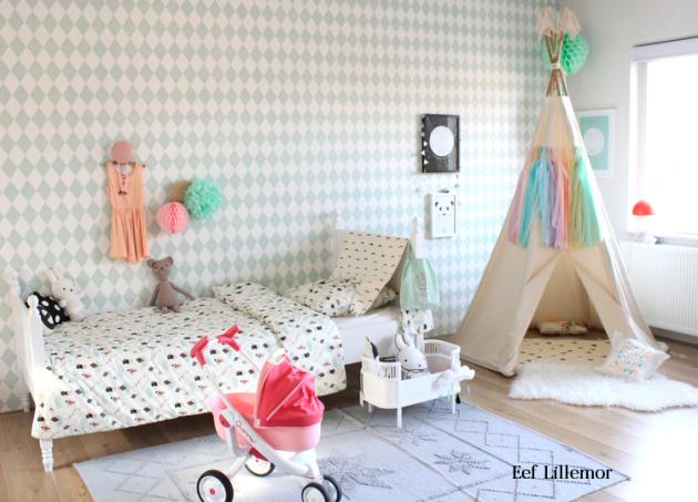 treintamasdiez-blog-de-moda, papel pintado Harlequin de ferm living